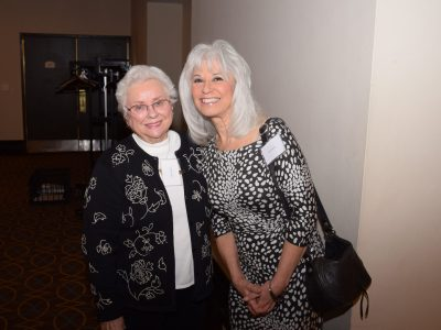 Cristel Truglia and Joyce DiCamillo at the 2019 Thumbilina Fund Dinner